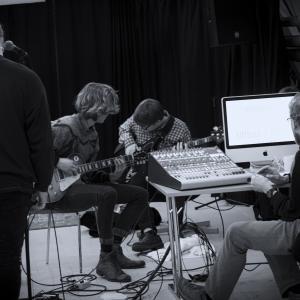 Liveoptagelse i Kaosambassadens studie
